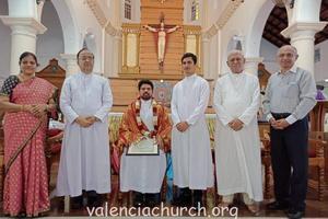 Valencia Parishioners bid CIAO to Fr Joswin D'Souza