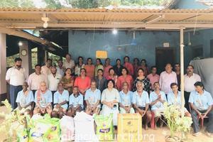 Catholic Sabha Visits Karunamaya Trust Fermai