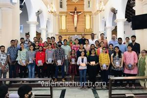 Catholic Sabha Valencia Unit holds 'Pratibha Puraskar 2021'